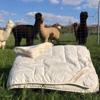 Alpaka Bettdecke